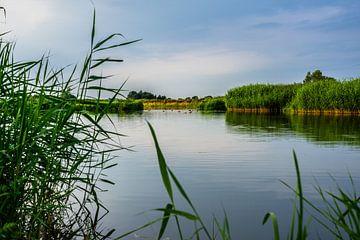 Langs een rivier van Jos Venes
