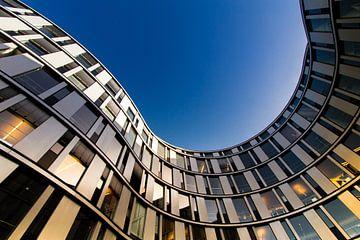Abstract gebouw van Wim Brauns