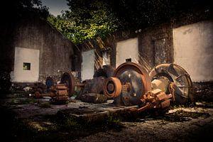 Antieke waterkrachtcentrale van Daphne Elderenbos