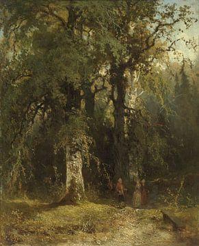 Bosgezicht, Johannes Warnardus Bilders