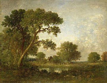 Landschap, Léon-Victor Dupré van