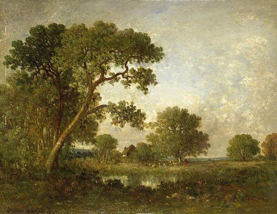 Landschap, Léon-Victor Dupré van Meesterlijcke Meesters