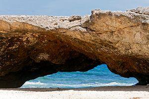 natuurlijke brug in aruba