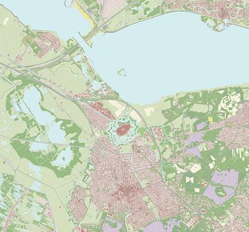 Kaart vanNaarden
