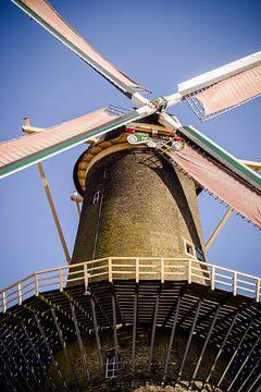 Molen in Schiedam van Suzan van Pelt