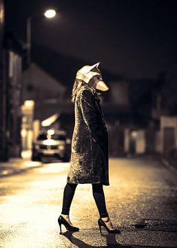 Night Wolf van Alex Schröder