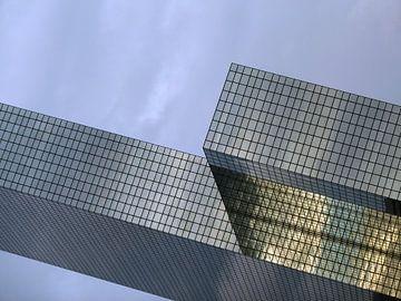 Rotterdam CS: detail NN-Gebouw van MoArt (Maurice Heuts)