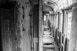 Urbex Trein Polen van GerART Photography & Designs