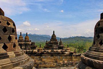 Borobudur von Eduard Lamping