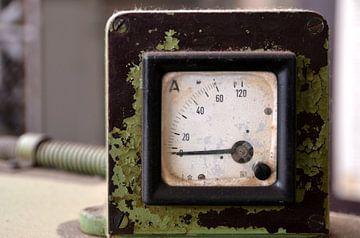 Messgerät für Strom an einer alten Maschine von Heiko Kueverling