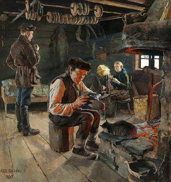 La vie rustique, Akseli Gallen-Kallela sur