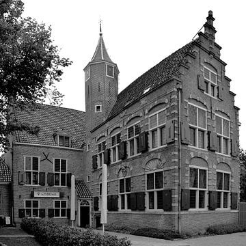 Alkmaar Noord-Holland Zwart Wit van Hendrik-Jan Kornelis