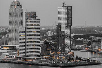 Rotterdam (kop van zuid) van John Ouwens