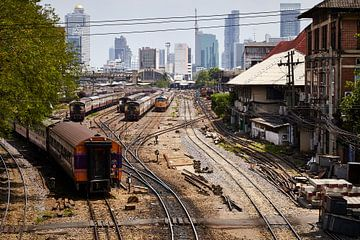 Bangkok-trein van Graham Forrester