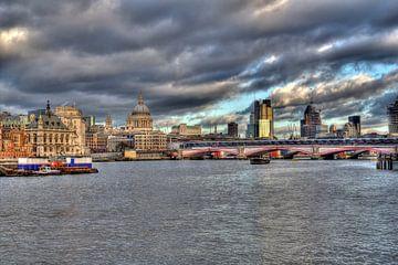 London Skyline van Jan Kranendonk