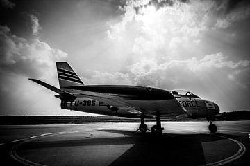 F-86 Sabre , Soesterberg van Brian Vijber