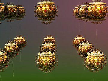 Fractale bollen van Frank Heinz