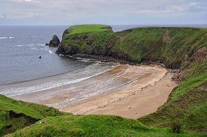 Ierse kust bij Malinbeg. van