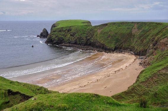 Ierse kust bij Malinbeg. van Edward Boer