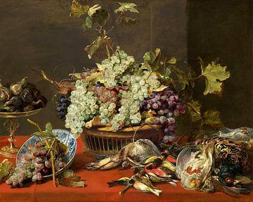 Nature morte au raisin et au gibier, Frans Snyders
