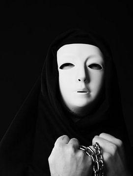 masque de la mort von Nataly Haneen