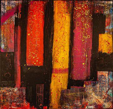 Kleurrijk voor zwart van Klaus Heidecker
