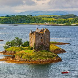 Château Stalker, Écosse sur Henk Meijer Photography