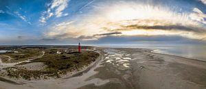 Texel | Vuurtoren Eierland bij zonsondergang  van Ricardo Bouman | Fotografie