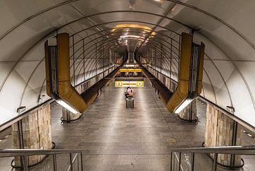 Praag metro van Werner Lerooy