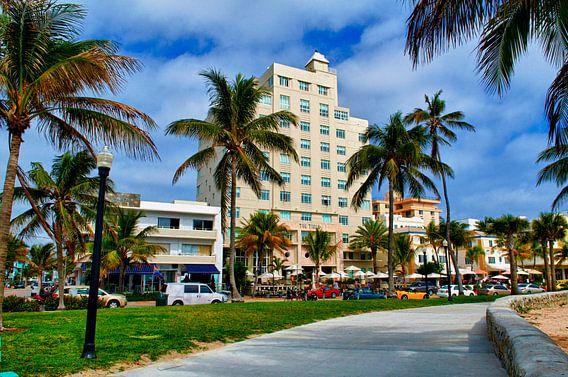 Miami Ocean Drive van Peter Pijlman