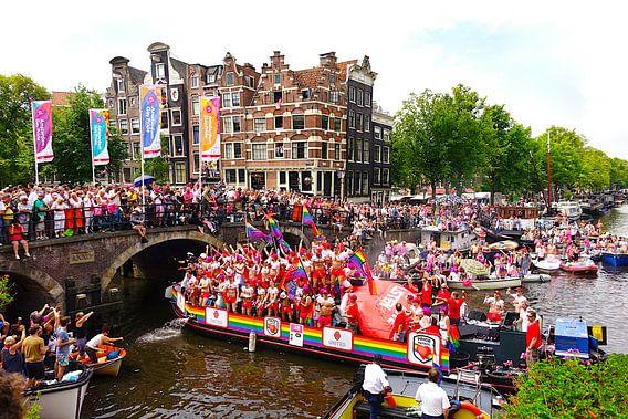 Canal Parade Amsterdam van Harry Hadders