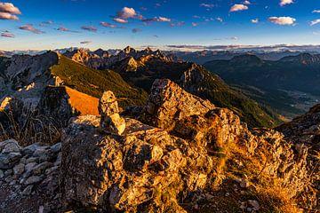Sonnenuntergang im Tannheimer Tal von MindScape Photography
