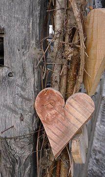 Herz aus Holz von Hanneke Bantje