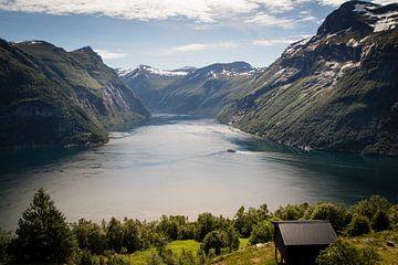 Geirangerfjord in Noorwegen von Marie-Christine Alsemgeest-Zuiderent