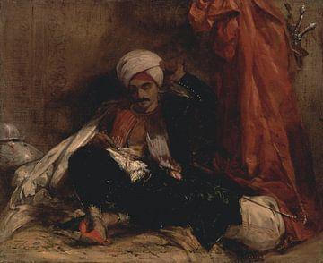 Sitzender Türke, Richard Parkes Bonington
