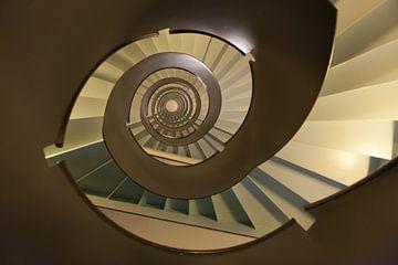 Abstrakte Treppe von Brian Morgan