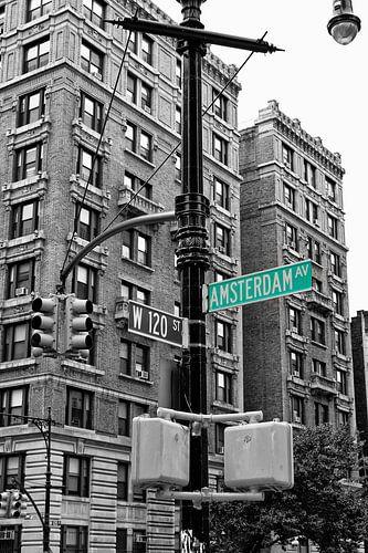 Amsterdam Avenue van