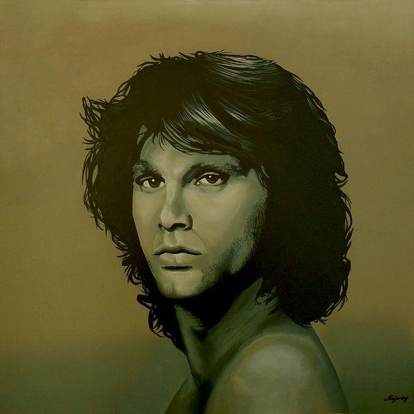 Jim Morrison schilderij van Paul Meijering