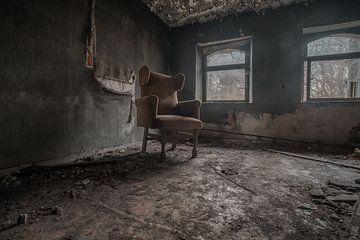 assis seul dans cet endroit sur Trudo Urbex/ Jelle S photography