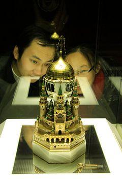 Faberge-Ei im Shanghai-Museum von Sarah Lugthart