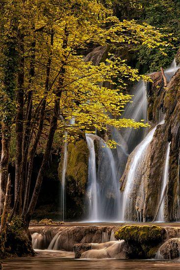 La cascade des tufs aux planches pres d'arbois. van Lars van de Goor