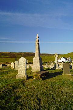 Begraafplaats in Kilmuir Flora MacDonald's graf van Babetts Bildergalerie