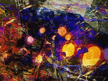 Modernes, abstraktes Digital Artwork - Wenn das das Ende ist von Art By Dominic
