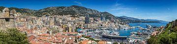 MONACO View to Monte-Carlo | Panoramic van Melanie Viola