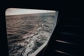 Welle in der Ostsee (Rügen) von Denny Lerch