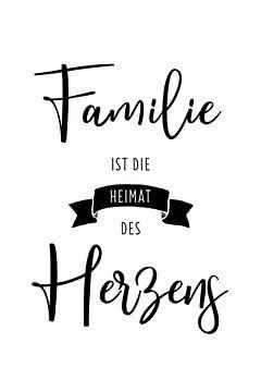 La famille est la maison du cœur sur Kim Karol / Ohkimiko