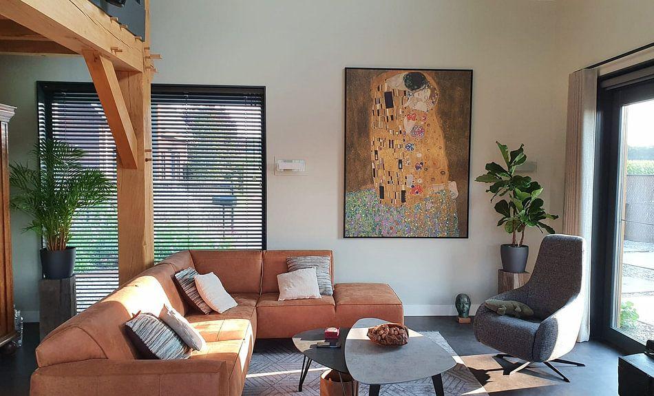 Photo de nos clients: Le baiser de Gustav Klimt