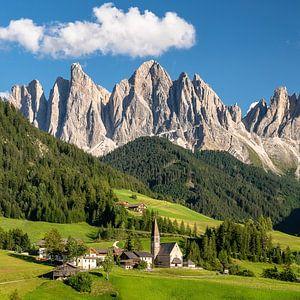 Val di Funes Zuid-Tirol van Achim Thomae