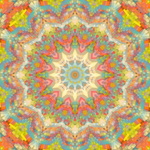 Mandala-stijl 84 van Marion Tenbergen