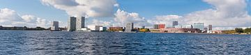 Skyline Almere panorama van